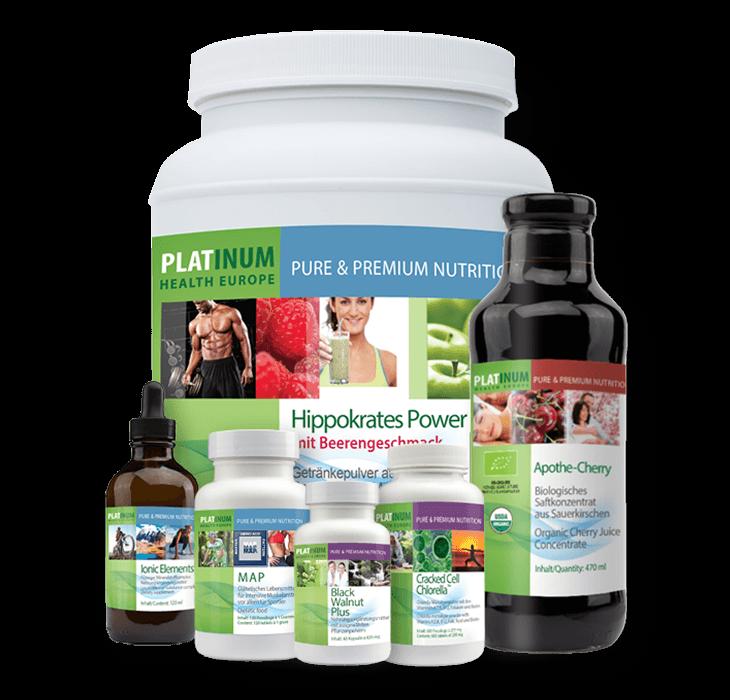 10 Tage Transformation Reinigung Hippokrates Power Beere von Platinum Health Europe