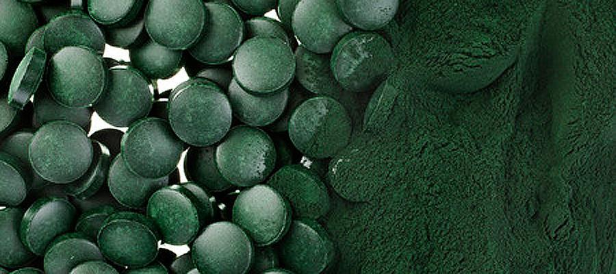 Qualität von chlorella und spirulina